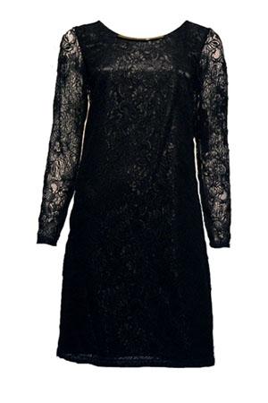 šaty s krajkou vera mont 2016 4935 9042 černé krajkové šaty s ...