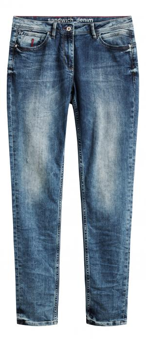 Skinny Jeans - Medium blue denim
